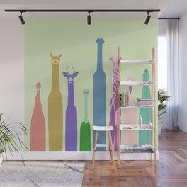 Long Neck Animals Wall Mural