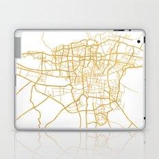 TEHRAN IRAN CITY STREET MAP ART Laptop & iPad Skin