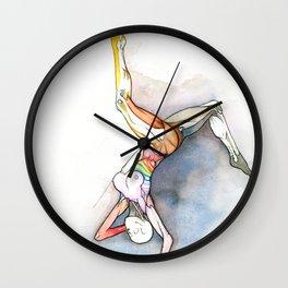 Level, female ballet dancer, NYC artist Wall Clock