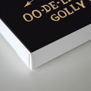 oo-de-lally Canvas Print