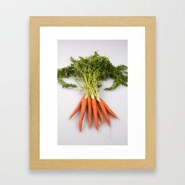 Vibrant Vegetable Framed Art Print