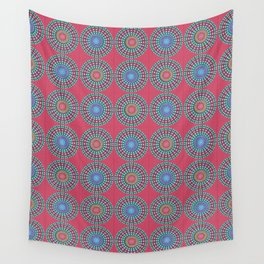 Spinners Pattern Wall Tapestry