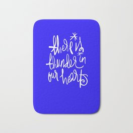 Thunder in Our Hearts Bath Mat