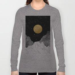 Moon and Stars Langarmshirt