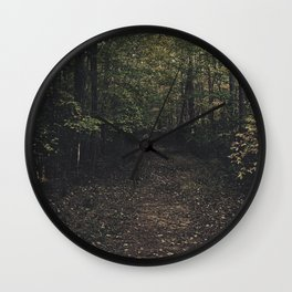 Forest 002 Wall Clock