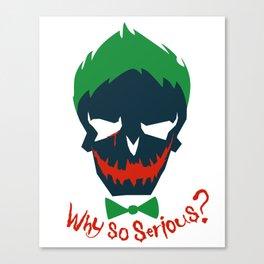 Suicide Squad - The Joker Canvas Print