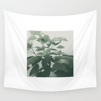 plant Wall Tapestries featuring Plant by LAUNCH