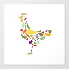Convert a carnivore Canvas Print