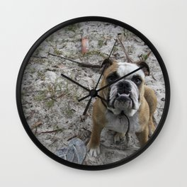 We're Staying Right? Wall Clock