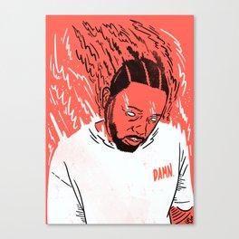 Kendrick Lamar - Damn. Canvas Print
