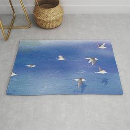 Black-tailed Gull | Miharu Shirahata Rug
