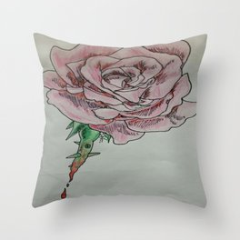 every rose has thorns 2 Throw Pillow