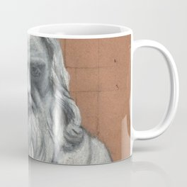 Leonardo Da Vinci Bust Portrait Coffee Mug