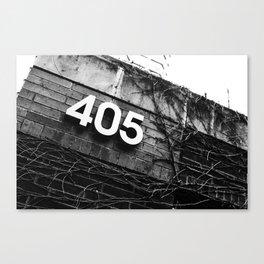 The 405 Canvas Print