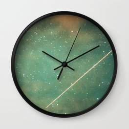 Perseid Wall Clock