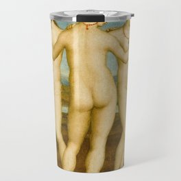 "Raffaello Sanzio da Urbino ""Three Graces"", circa 1504-1505 Travel Mug"