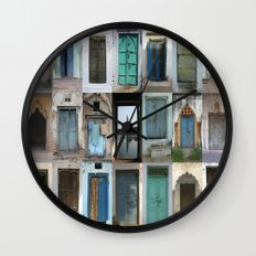 INDIA - Doors of India Wall Clock