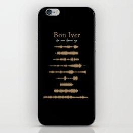 For Emma, Forever Ago iPhone Skin