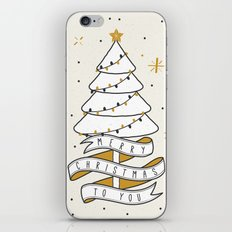 Merry Christmas To You iPhone Skin