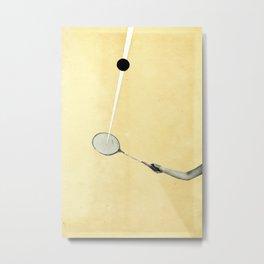 Tennis Metal Print
