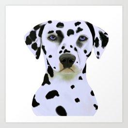 Dalmatian Art Art Print