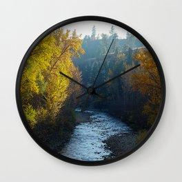 Mission Creek Wall Clock