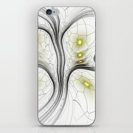 Surreal abstract fractal iPhone Skin