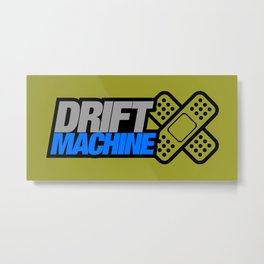 Drift Machine v6 HQvector Metal Print