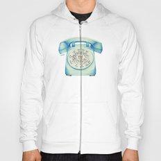 Rotary Telephone - Ballpoint Hoody