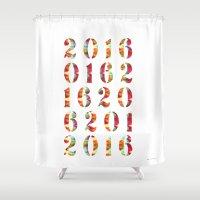 2016 Shower Curtain