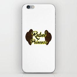 Rebel Princess iPhone Skin