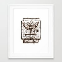 science Framed Art Prints featuring Science by Ulla Thynell