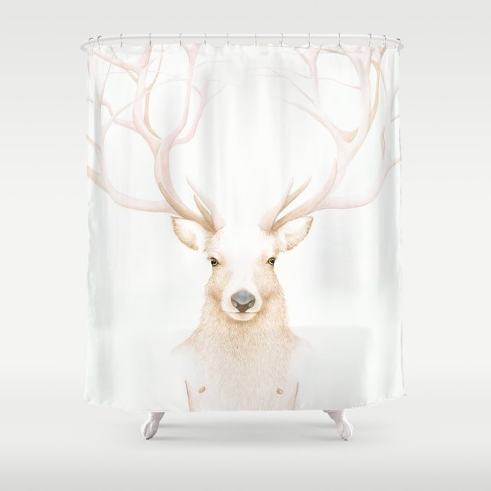 Unfinished Humanity Shower Curtain