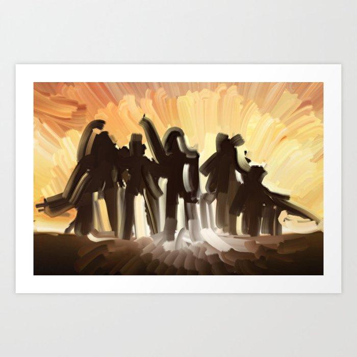 Halo Reach Art Print