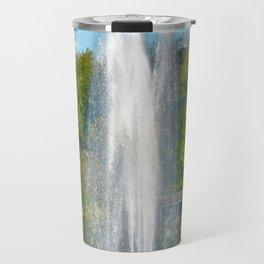 Sparkling Fountain Travel Mug