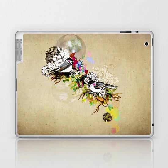 Two Birds Laptop & iPad Skin