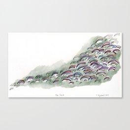 The Herd Canvas Print