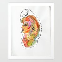 Unfold Your Dreams Art Print