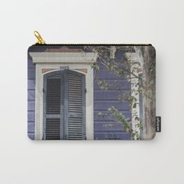 New Orleans Blue Marigny Door Carry-All Pouch