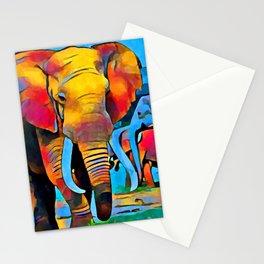 Elephant 3 Stationery Cards
