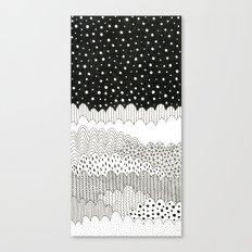 Night Fields Canvas Print