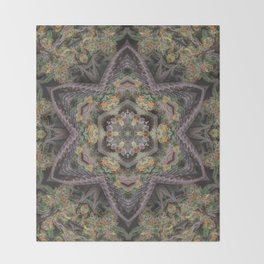 Merkabud Throw Blanket