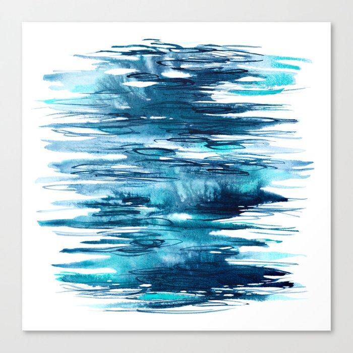 Abstract Ocean Canvas Art