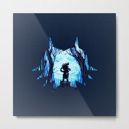 MASK OF ZELDA Metal Print