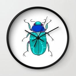 Mr Frost Beetle Wall Clock