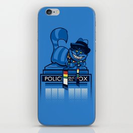 The Cheshire Doctor iPhone Skin