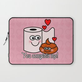 You Complete Me! Laptop Sleeve