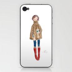 PONCHO - SELF-PORTRAIT iPhone & iPod Skin