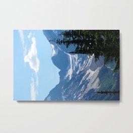Alpine Blues pt 2 Metal Print