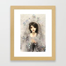 Kallias - Winter Snow Framed Art Print